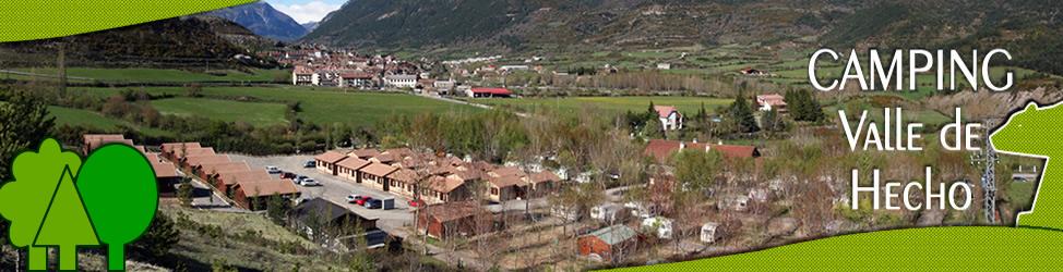 camping valle de hecho - pirineo aragonés