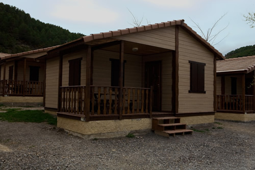bungalows camping pirineo